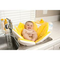 Blooming Bath Canary Yellow Baby Bath