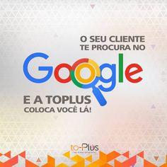 Você sabia que mais de 80% dos internautas brasileiros pesquisam por produtos e serviços na internet antes de fechar negócio? A Agência Digital toPlus é especialista em campanhas de links patrocinados no Google AdWords para todas as empresas, desde pequenas e médias até as maiores do mercado. Entre em contato conosco e saiba como aumentar o crescimento da sua empresa! www.toplus.com.br (11)3375-0064 | 3375-0065 Tech Companies, Company Logo, Internet, Logos, Google, Quote Of The Day, Finding Nemo, Frases, Logo