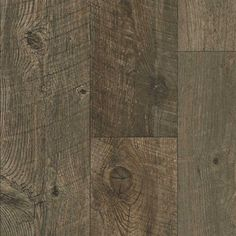 Tarkett 12-ft W Fumed Wood Finish FiberFloor Sheet Vinyl