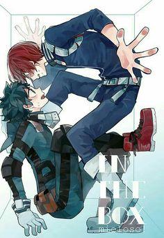 Todoroki shouto x izuku midoriya My Hero Academia Shouto, My Hero Academia Episodes, Hero Academia Characters, Anime Characters, Cute Anime Guys, Anime Love, Doki Doki Anime, Chibi, Deku Anime
