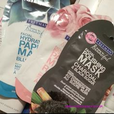 Creatively Yours: Budget Beauty:: Freeman Beauty Charcoal & Black Sugar Facial Polishing Mask #Skincare