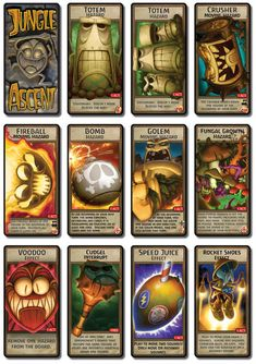 Jungle Ascent- Cards