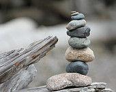 """Ähnliche Artikel wie Stacking Stones Beach Photo - Fine Art Photography 8""""X10"""" auf Etsy"""