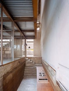 AMAA Architecture's Office Set Within an Old Factory in Italy – Architecture Architecture Office, Contemporary Architecture, Industrial Architecture, Factory Architecture, Building Architecture, Concept Architecture, Industrial Homes, Landscape Architecture, Industrial Design