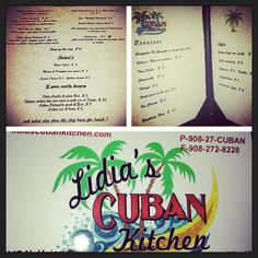 RP by http://drandreahayeck.com Linden NJ's  wonderful family dentist.  Lidia's Cuban Kitchen in Cranford NJ