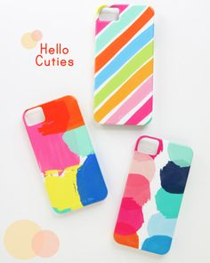 Painter's Palette iPhone Cases.. super cute for summer!