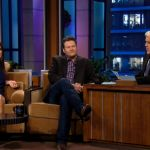 Blake Shelton and Sandra Bullock Play 'Guess Blake's Drunken Tweets' on Jay Leno [VIDEO]