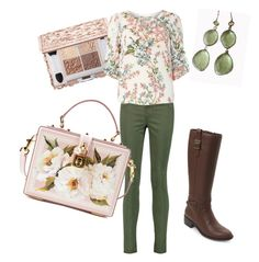 """Pretty n floral"" by turner-amanda-lee on Polyvore featuring J Brand, Billie & Blossom, Cole Haan, Blue Candy Jewelry and Dolce&Gabbana"
