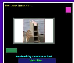 Wwmm Lumber Storage Cart 231209 - Woodworking Plans and Projects!