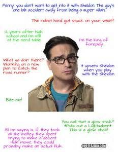 the big bang theory funny quotes - Bing Images