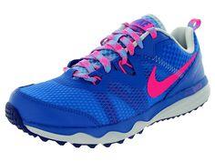 Nike Women's Dual Fusion Trail Hypr Cblt/Hypr Pnk/Pr Pltnm/Un Running Shoe Women US ** You can find more details by visiting the image link.