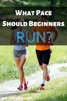 If you're new to running, you may be wondering, What pace should I run? Find out what pace you should be doing for the majority of your runs. Running Routine, Running Workouts, Running Tips, Race Training, Running Training, Training Programs, Good Running Pace, How To Start Running, Running Quotes