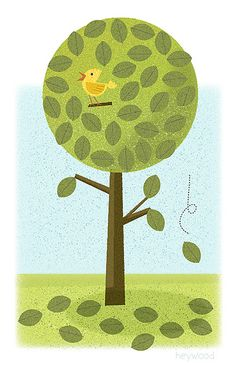 Tree, bird, leaves | Flickr: Intercambio de fotos