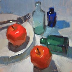 Carol Marine's Painting a Day: One Too Many