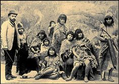 Selknam natives en route to Europe for being exhibited as animals in Human Zoos, 1899 Human Zoo, Rare Historical Photos, World History, Congo, Nativity, Tropical, Europe, Painting, Zoos