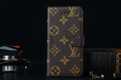 Louis Vuitton iPhone 6 and iPhone 6 Plus Real Leather Wallet Case 2015 - Funny Case - iPhoneProtectiveCases.com