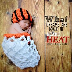 NEWBORN  Crochet Basketball Hat and Net   Cocoon by crochet2love1, $30.00