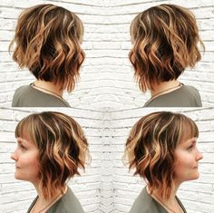 18 Hot ángulo Bob Peinados: Hombro longitud de pelo, Ideas atajo de pelo //  #ángulo #atajo #hombro #Ideas #Longitud #Peinados #pelo