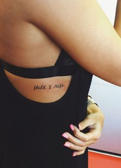 35 Small but Motivational Quote Tattoos for Sedulous Beings
