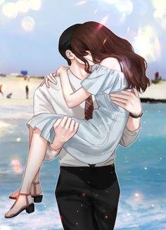 Cute Couple Cartoon, Cute Couple Art, Anime Love Couple, Anime Girls, Anime Couples Manga, Manga Anime, Romantic Anime Couples, Cute Couples, Anime Couples Sleeping