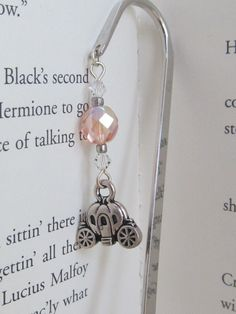 Cinderella's Carriage Bookmark by MLinksDesigns on Etsy