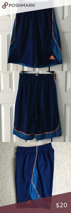Adidas Workout Basketball Shorts with Big Font Logo M Sizes L