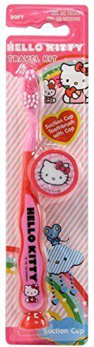 #top #Hello #Kitty Toothbrush Travel Kit