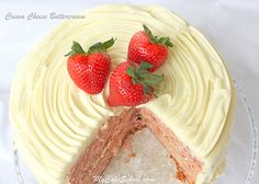 Cream Cheese Frosting-MyCakeSchool.com