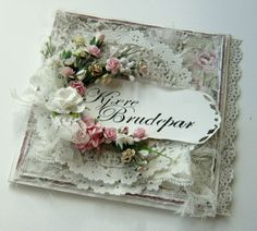 Lovely wedding card by Heidi