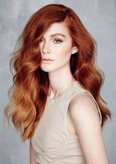 ginger red hair