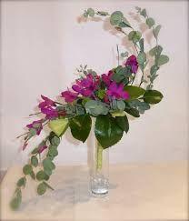 Image result for s curve floral arrangement rose lily