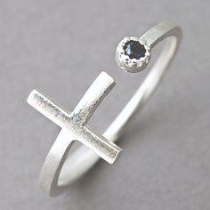 #kellin on Artfire        #ring                     #Sideways #Cross #Silver #Ring #Cross #Wrap #Around #Ring #Black #from #Kellinsilver.com                Sideways Cross Silver Ring Cross Wrap Around Ring Black CZ from Kellinsilver.com                                                  http://www.seapai.com/product.aspx?PID=126528