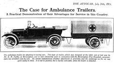 World War One Ambulances | WWI Medical Front |