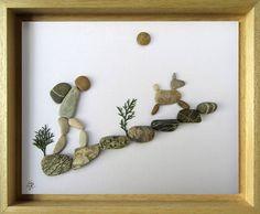 Arte  regalo per Backpacker  regalo per escursionista
