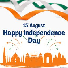 Happy Independence Day images - PiksHour Independence Day Images Hd, Happy Independence Day Wishes, Freedom Fighters, Feelings, Calligraphy, Lettering, Calligraphy Art, Hand Drawn Typography, Letter Writing