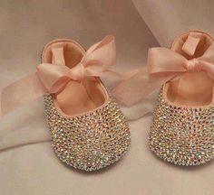 Baby girl bling ballet pumps