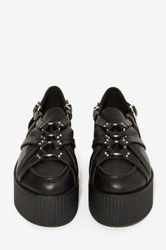 UNIF Bound Vegan Leather Creeper - Shoes | Unif