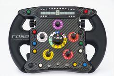Roso F1 Steering Wheel
