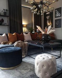 ~ Gorgeous House 20 stunning elegant living room decor ideas and remodel 00010 Living Room Decor Cozy, Elegant Living Room, Elegant Home Decor, My Living Room, Interior Design Living Room, Home And Living, Living Room Designs, Small Living, Decoration Bedroom