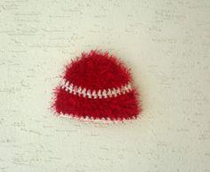 Chunky baby hat new born photo prop crochet by KnitterPrincess, $14.00