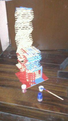 Torre en progreso