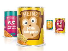 Genius use of the Heinz brand shield to appeal to the baby food audience!