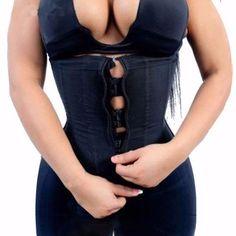 621e1d3ce3857 latex corset clip and zip waist cincher Plus Size Corset black steel boned  sexy lingerie corsets modeling strap corset