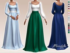 Sims 4 Mods Clothes, Sims 4 Clothing, Maxis, Sims 4 Decades Challenge, Sims 4 Cas Mods, Sims 4 Stories, Sims Medieval, Sims 4 Dresses, Sims 4 Cc Packs