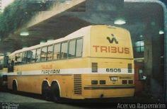 Ônibus da empresa Viação Itapemirim, carro 6505, carroceria Nielson Diplomata 2.60, chassi Scania K112TL. Foto na cidade de - por Acervo Itapemirim, publicada em 19/01/2017 16:07:14.
