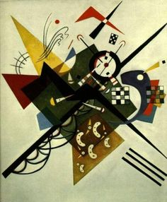 On White II by Wassily Kandinsky (1923)