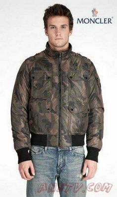 Moncler Down Vestes Hommes In camouflage