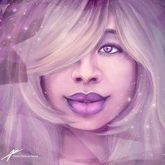 Amethyst ~Steven Universe by JenelleArt on DeviantArt