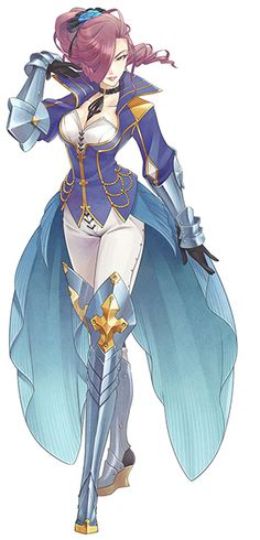 Tales of Zestiria Maltran (I liked her a lot. Wish she were playable!)