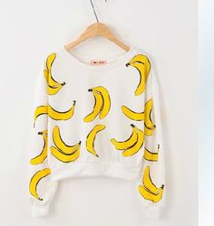 Banana Sweater, This sweater is B-A-N-A-N-A-S-!